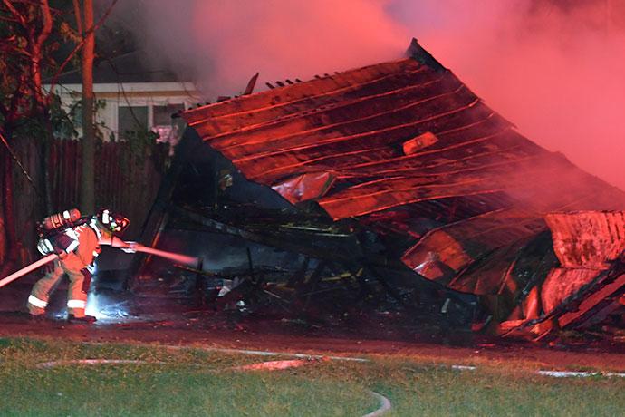 Greenville Garage Fires